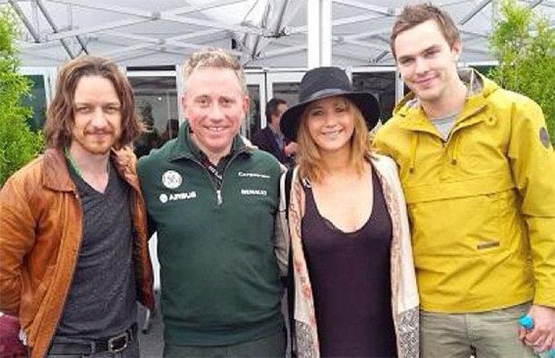 Nicholas, Jennifer & James - Canadian Grand Prix