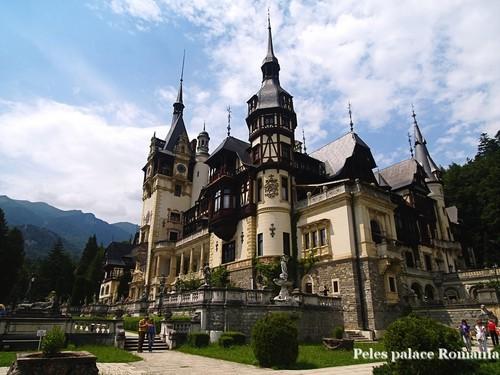 beautiful Peles palace Romania eastern europe castles