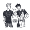 Percy and Jason