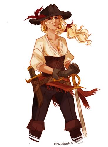Pirate Annabeth