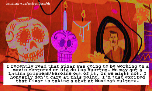 Pixar might be making a Hispanic movie