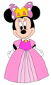 Princess Minnie - Masquerade - mickey-mouse-clubhouse fan art