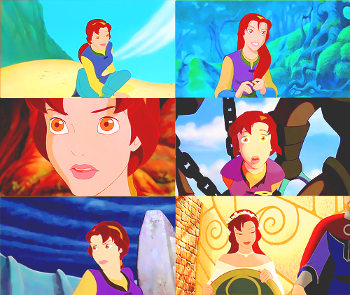 dessins animés fond d'écran titled Quest for Camelot - Kayley