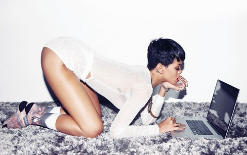 Rihanna wallpaper probably with skin and a portrait titled Rihanna Complex