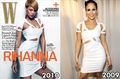Rihanna vs Jennifer Lopez - rihanna fan art
