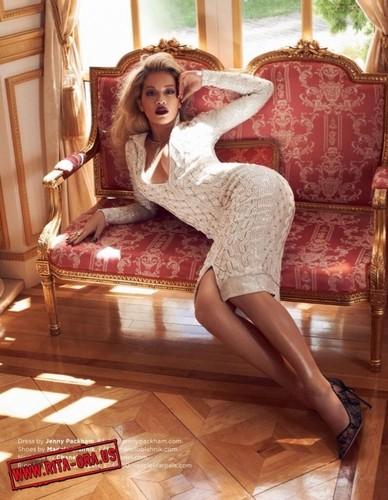 Rita Ora - GQ UK Magazine Scans 2013 Vivanco Mariano