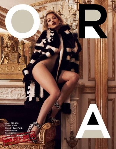 Rita Ora - GQ UK Magazine Scans 2013 Vivanco Mariano