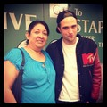 Rob with a fan at the Beyonce concert July 1,2013 - robert-pattinson-and-kristen-stewart photo