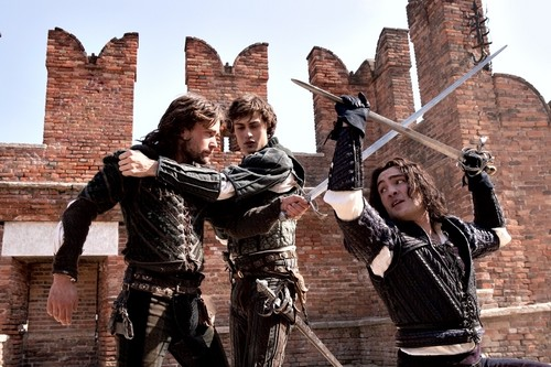 Romeo, Mercutio, and Tybalt