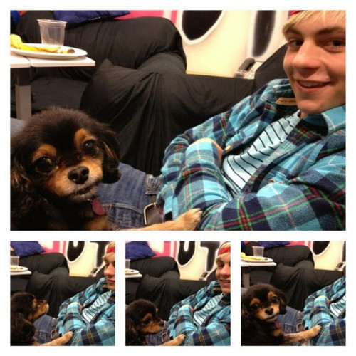 Ross Lynch With Pixie January 16, 2013