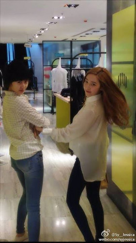 SNSD's Sica and her little ''brother'' f(x)'s Krystal