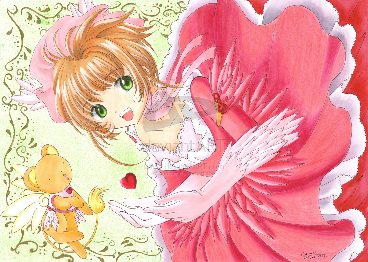 Anime Characters Named Sakura : Sakura kinomoto