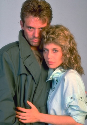 Sarah Connor and Kyle Reese - The Terminator
