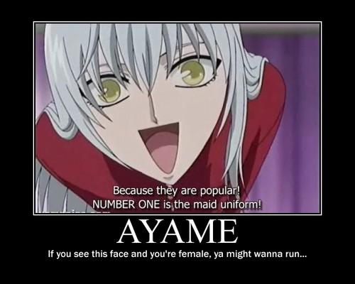 Scary Ayame