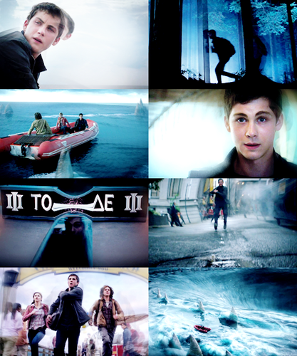 Sea of Monsters Movie: Stills Collage