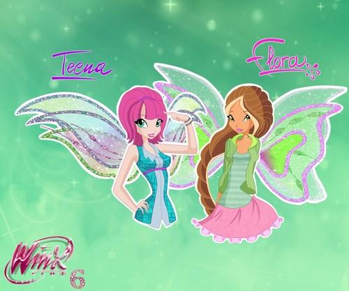 Season 6: Flora & Tecna.