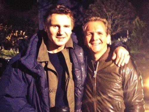 Seb & Liam Neeson