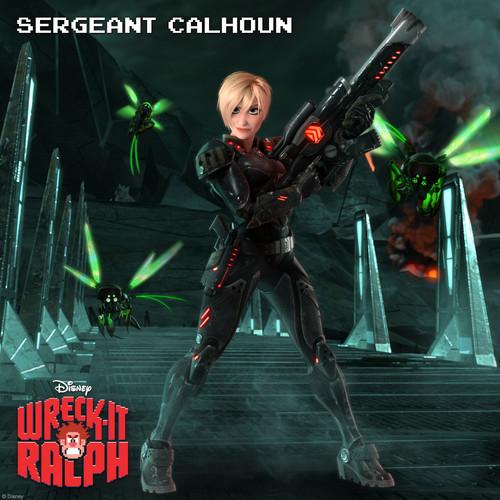 Sergeant Calhoun