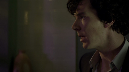Sherlock 1x01- A Study in rosa