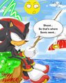 Shoot... - shadow-the-hedgehog fan art