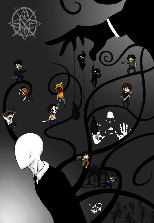 Slender Man and other Creepypastas - The Slender Man Fan Art