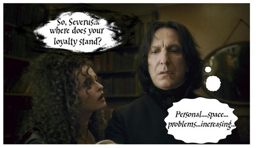 Snape has issues....