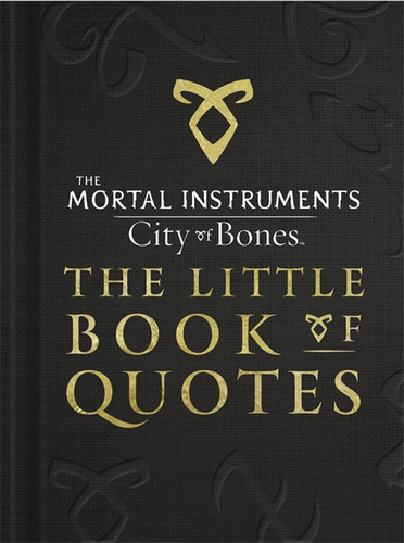 "Shadowhunters wallpaper titled Sneak Peek at the TMI ""Little Book of Quotes"""