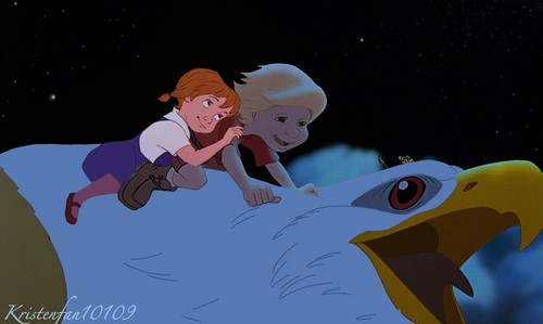disney crossover fondo de pantalla possibly with a sign entitled Soaring through the sky