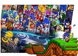 Sonic tru the years...