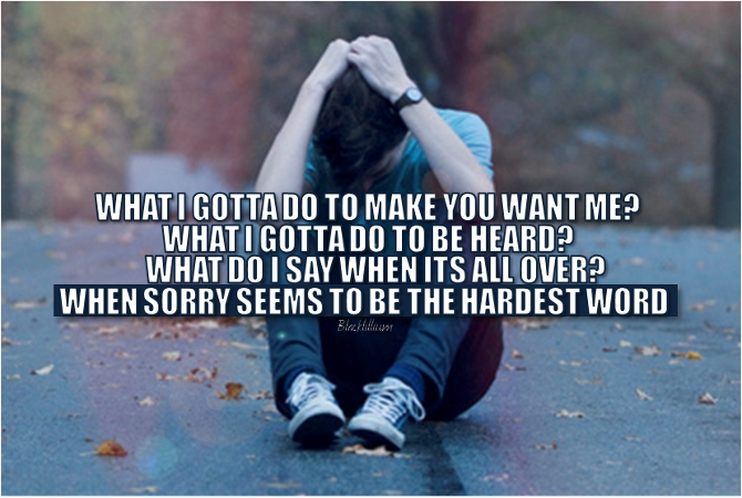 Sorry - Quotes Photo (34980221) - Fanpop
