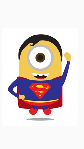 kasuklam-suklam sa akin mga kampon wolpeyper probably with a paikutan entitled Superman minion