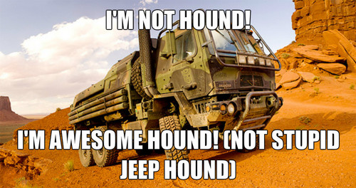 transformers wallpaper titled TF4 Hound Meme