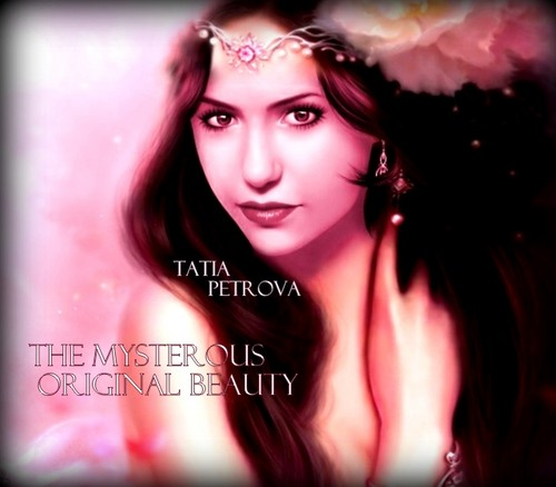 the vampire diaries tv tampil wallpaper containing a portrait entitled Tatia Petrova: the mysterious original beauty