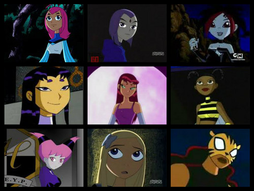 Teen Titans Girls