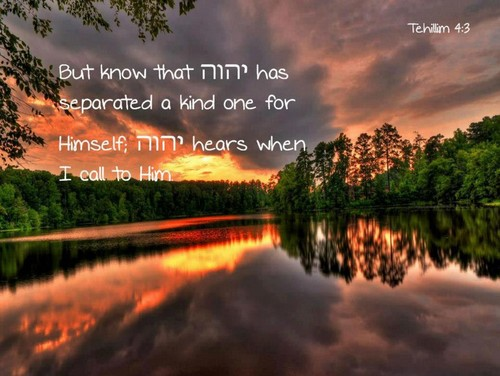Tehillim 4:3