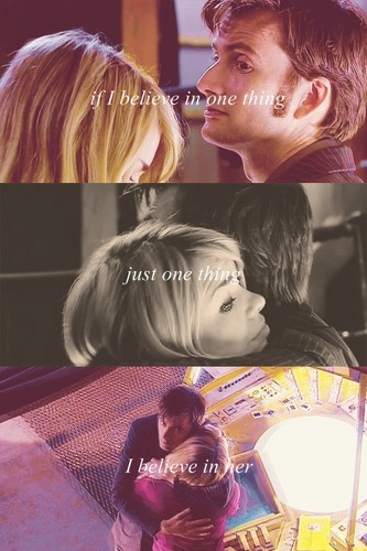 The Doctor and Rose ❤