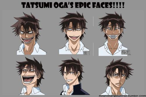 The Many Faces of Tatsumi Oga
