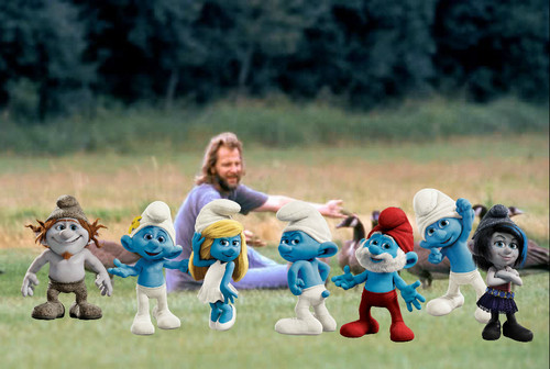 The Smurfs 2 and Fly Away घर