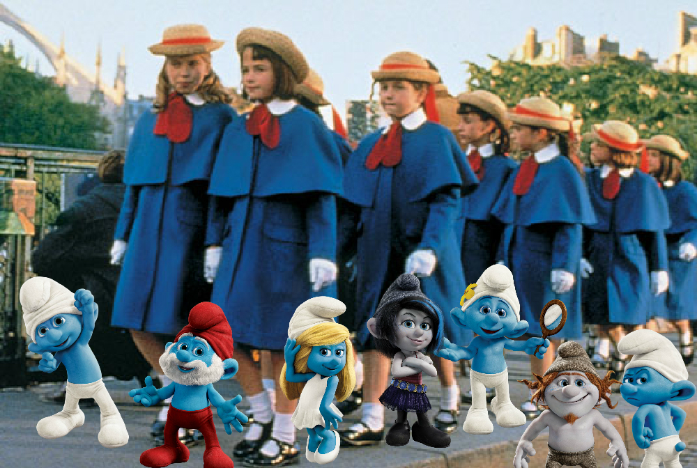 Smurfs 2 Smurfs 2 And Madeline