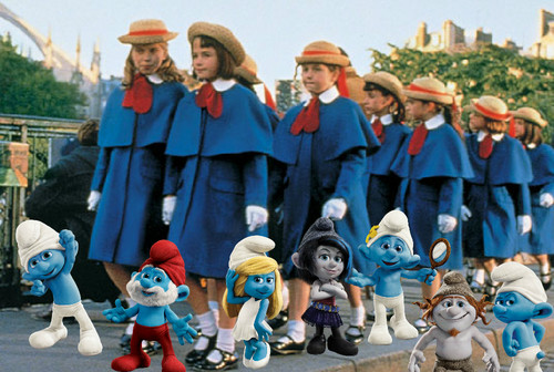 The Smurfs 2 and Madeline