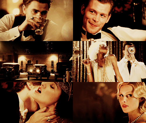 The Vampire Diaries - 3.03 The End of The Affair, Chicago 1920.