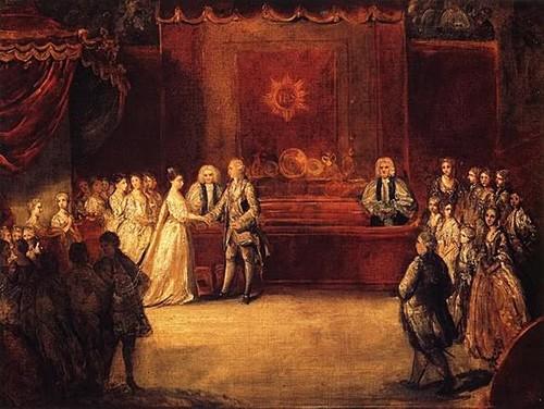 The Wedding of King George III of England