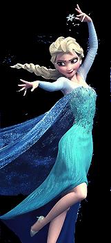 Transparent Elsa