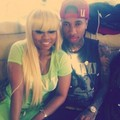 Tyga & Blac Chyna Together - tyga photo