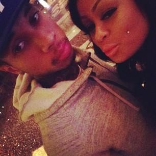 Tyga & Blac Chyna Together
