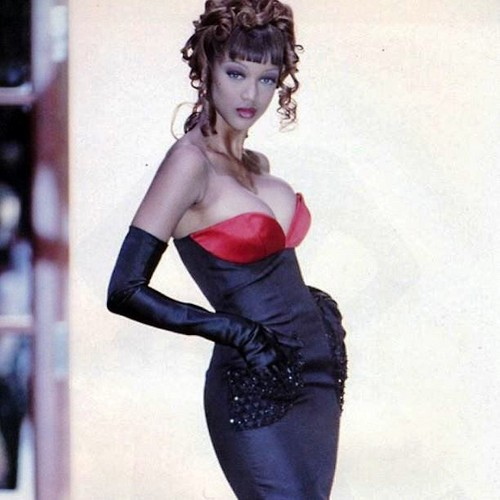 Tyra Banks modeling jobs