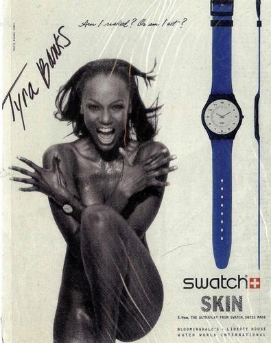 Tyra Banks modeling jobs