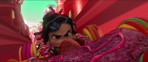 Vanellope वॉलपेपर possibly with a parasol entitled Vanellope - बिना सोचे समझे Roaster Race