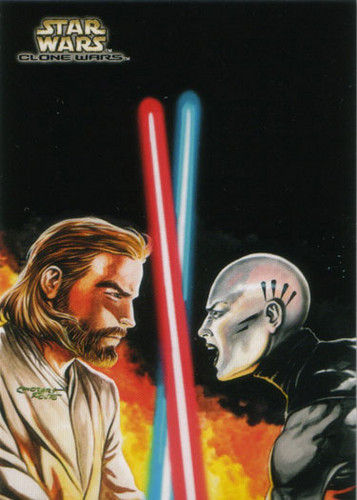 Ventress and Obi-wan