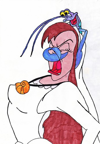 Walt ডিজনি অনুরাগী Art - Vanessa